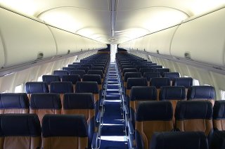 Southwest Airlines cabin