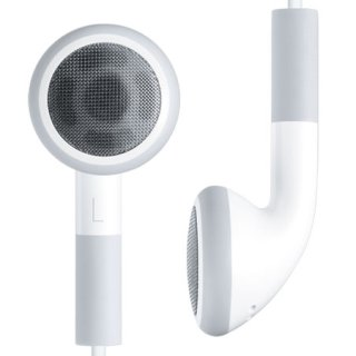 iPod White Earbuds